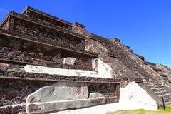 Teotihuacan arruina IV fotos de stock