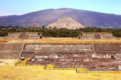 Teotihuacan arruina VI foto de stock