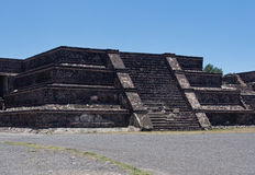 Teotihuacan Avenue of the Dead Mexico Stock Photo