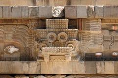 Teotihuacan Aztec ruïneert dichtbij Mexico-City royalty-vrije stock foto's