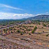 Teotihuacan, Aztec ruins, Mexico Royalty Free Stock Photography