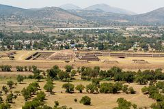 Teotihuacan Citadel Mexico Royalty Free Stock Photography