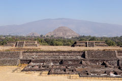 Teotihuacan  Citadel and Pyramids, Mexico Royalty Free Stock Photography