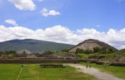 Teotihuacan III royalty free stock image