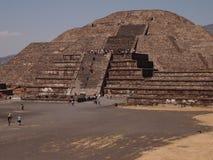 Teotihuacan, México, una civilización precolombina antigua que precedió la cultura azteca Fotografía de archivo libre de regalías