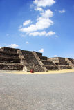 Teotihuacan, Meksyk Obrazy Royalty Free