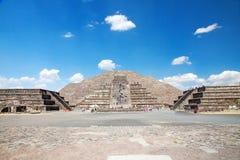 Teotihuacan, Meksyk Fotografia Royalty Free