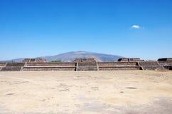 Teotihuacan Messico Fotografia Stock