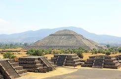 Teotihuacan, Messico Fotografia Stock Libera da Diritti