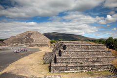 Teotihuacan in Mexico Stock Images