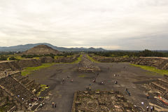 Teotihuacan, Mexico Stock Afbeelding