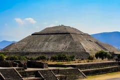 Teotihuacan Mexico Arkivfoto