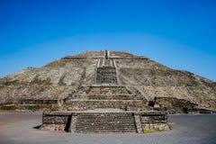 Teotihuacan Mexico Royaltyfri Fotografi