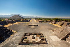 Teotihuacan, Mexico Royalty-vrije Stock Foto's
