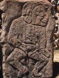 Teotihuacan, Mexico, een oude Pre-Columbian beschaving die de Azteekse cultuur voorafging Royalty-vrije Stock Afbeeldingen