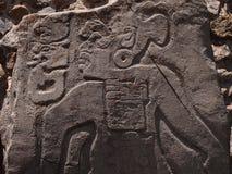 Teotihuacan, Mexico, een oude Pre-Columbian beschaving die de Azteekse cultuur voorafging Stock Foto