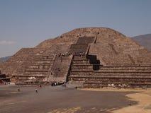 Teotihuacan, Mexico, een oude Pre-Columbian beschaving die de Azteekse cultuur voorafging Stock Afbeelding