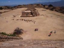 Teotihuacan, Mexico, een oude Pre-Columbian beschaving die de Azteekse cultuur voorafging Stock Fotografie