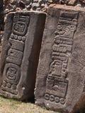 Teotihuacan, Mexico, een oude Pre-Columbian beschaving die de Azteekse cultuur voorafging Royalty-vrije Stock Foto's