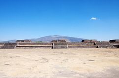 Teotihuacan Mexico. A fragment of the ruins of Teotihuacan, Mexico Stock Photo
