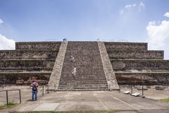teotihuacan mexico pyramider Royaltyfri Fotografi