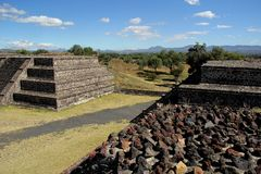 Teotihuacan. Stock Photography
