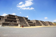 Teotihuacan, Mexiko Stockfotos