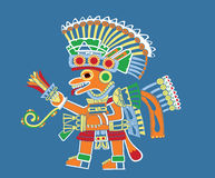 Teotihuacan painting Royalty Free Stock Image