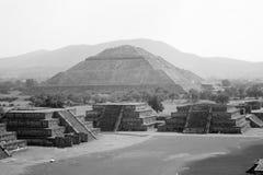 Teotihuacan. Pirámide del Sol en Teotihuacan Royalty Free Stock Image