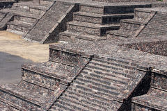 Teotihuacan piramides Royalty Free Stock Images