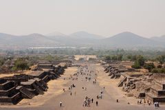 Teotihuacan piramides Royalty Free Stock Photos