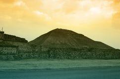 Teotihuacan Pyramid Stock Image
