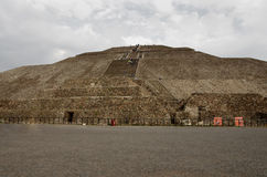 Teotihuacan Pyramid Stock Photography