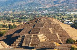 Teotihuacan. Pyramid of the Sun. Teotihuacan. Mexico stock photos