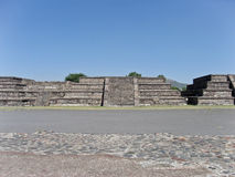 Teotihuacan Pyramid Temples Mexico Royalty Free Stock Photography