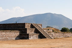 Teotihuacan Pyramids Royalty Free Stock Photo