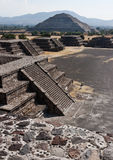 Teotihuacan Pyramids Stock Photography