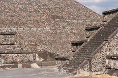 Teotihuacan Pyramids royalty free stock photo