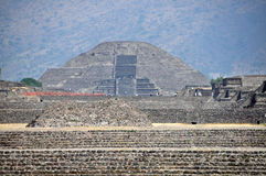 Teotihuacan Pyramids, Mexico Royalty Free Stock Photography