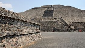 Teotihuacan Pyramids, Mexico Stock Photography
