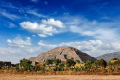 Teotihuacan Pyramids, Mexico Stock Photo