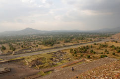 Teotihuacan Pyramids Stock Photos