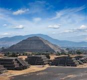 Teotihuacan Pyramids stock photos