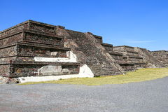 Teotihuacan ruiniert II Stockfotografie
