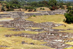 Teotihuacan ruins I royalty free stock images