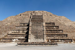 Teotihuacan ruins in Mexico Royalty Free Stock Images
