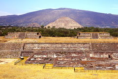 Teotihuacan ruins VI Stock Photo