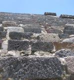 Teotihuacan Treppen Stockbild
