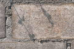 teotihuacan vägg för mexico pyramidsun Arkivbild