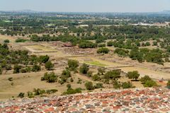 Teotihuacan Valley Stock Image